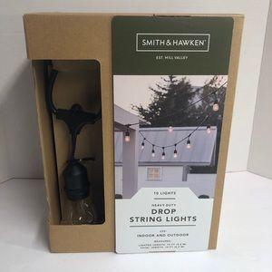 Smith & Hawken 10 Heavy Duty Drop String Lights